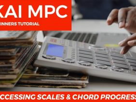 AKAI MPC STUDIO 1.9.5 BEGINNER'S TUTORIAL: ACCESSING SCALES & CHORD PROGRESSION
