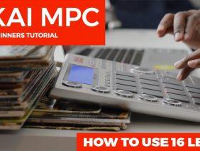 AKAI MPC STUDIO 1.9.5 BEGINNER'S TUTORIAL:  HOW TO USE 16 LEVELS