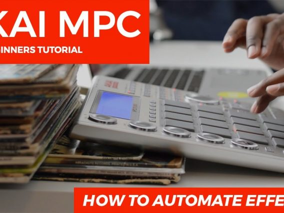 AKAI MPC STUDIO   AUTOMATION TUTORIAL:  HOW TO AUTOMATE EFFECTS & VST PLUGINS