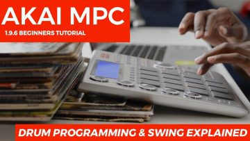 AKAI MPC STUDIO TUTORIAL | DRUM PROGRAMMING & SWING EXPLAINED