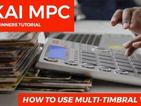 AKAI MPC STUDIO TUTORIAL | HOW TO USE  MULTI-TIMBRAL VST's