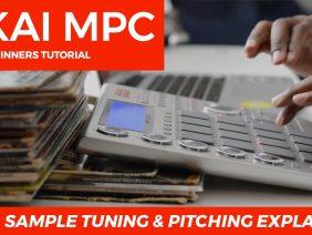 AKAI MPC STUDIO TUTORIAL | SAMPLE TUNING & PITCHING EXPLAINED