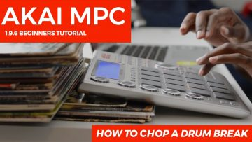 MPC Studio 1.9.5 Beginner's Tutorial: How To Chop A Drum Break