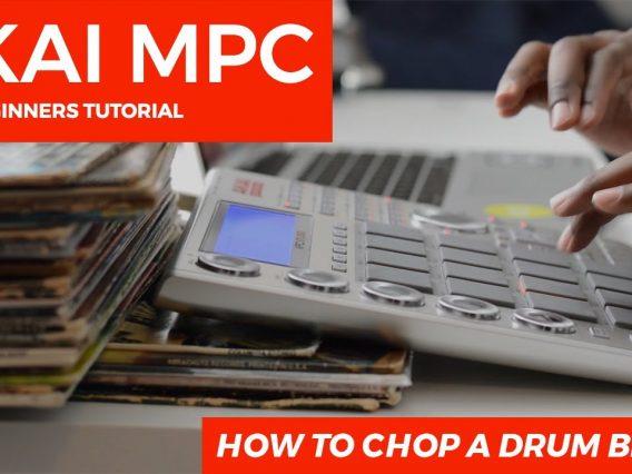 MPC Studio 1.9.5 Beginner's Tutorial: How To Chop A Drum Break